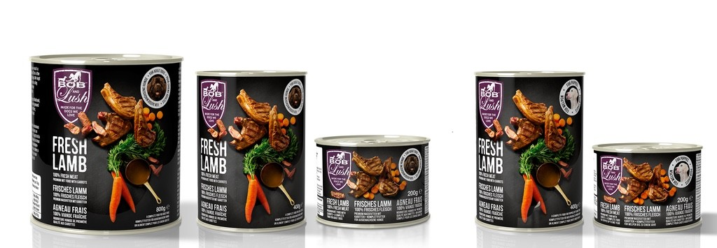 bob and lush dog food sponsorship